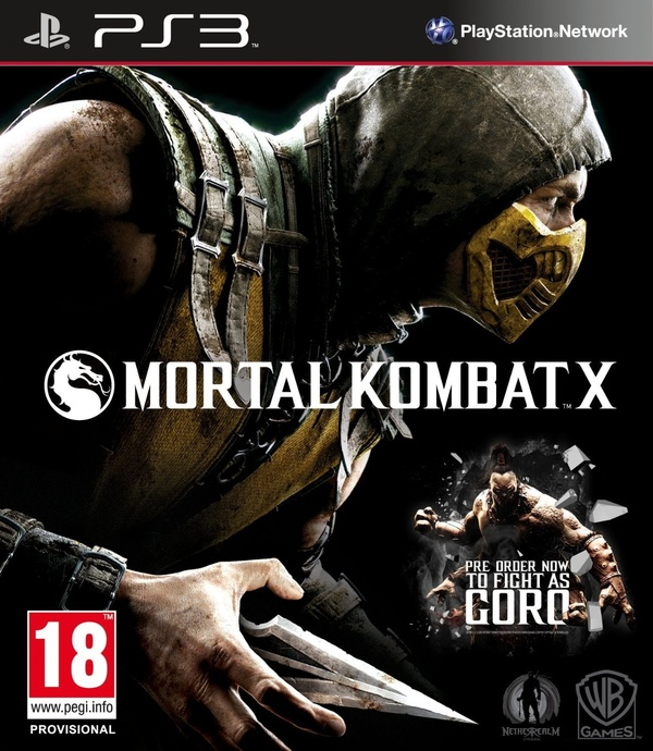 Cover zu Mortal Kombat X