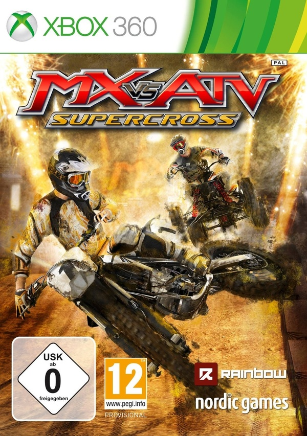 Cover zu MX vs. ATV Supercross