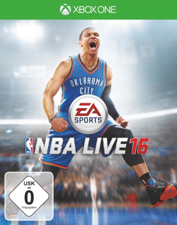 Cover zu NBA Live 16