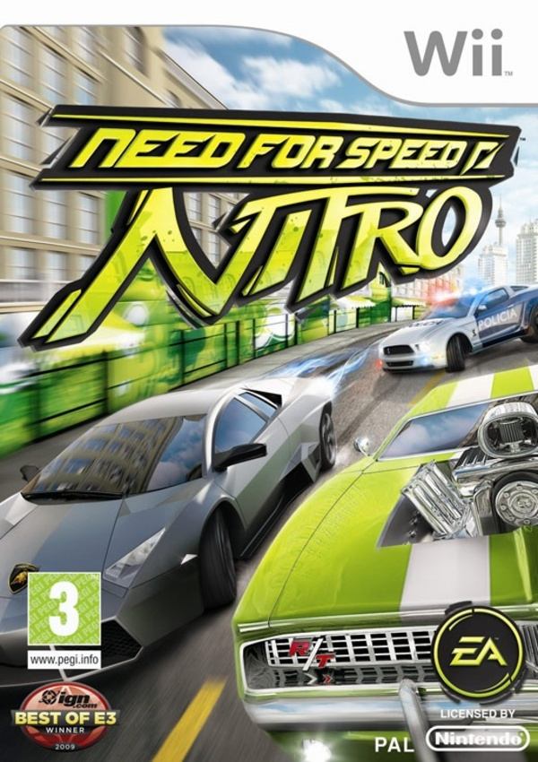 Cover zu Need for Speed: Nitro