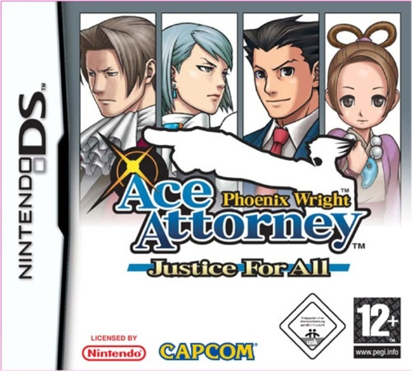 Cover zu Phoenix Wright: Ace Attorney - Justice For All