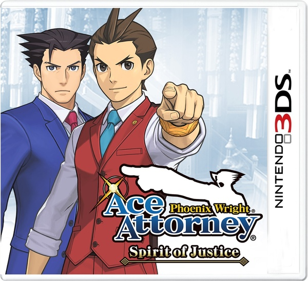 Cover zu Phoenix Wright: Ace Attorney - Spirit of Justice