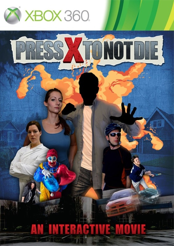 Cover zu Press X to Not Die