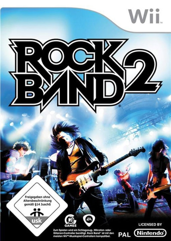 Cover zu Rock Band 2