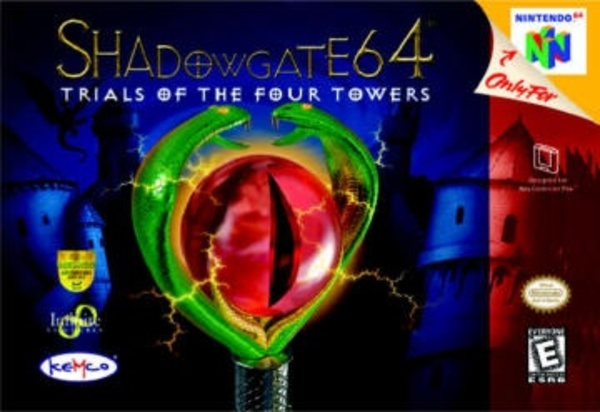 Cover zu Shadowgate 64: The Trials of the Four Towers