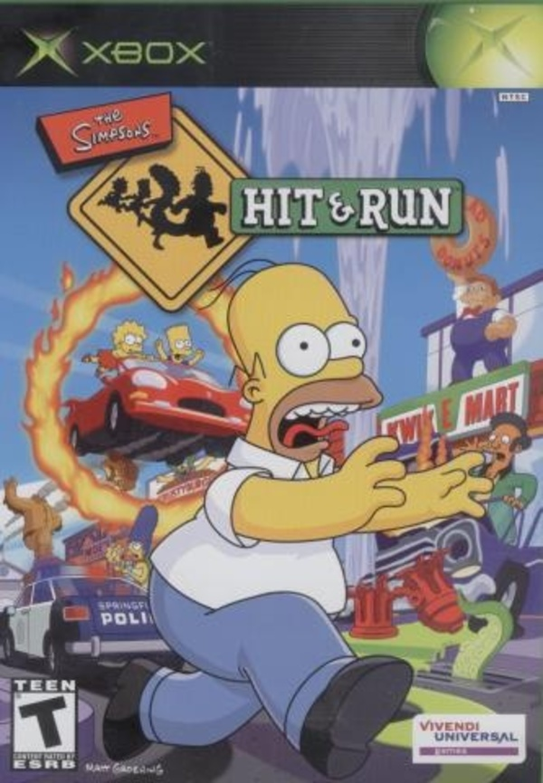 Cover zu The Simpsons: Hit & Run