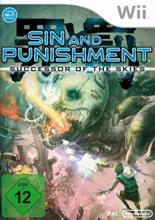Cover zu Sin and Punishment: Successor of the Skies