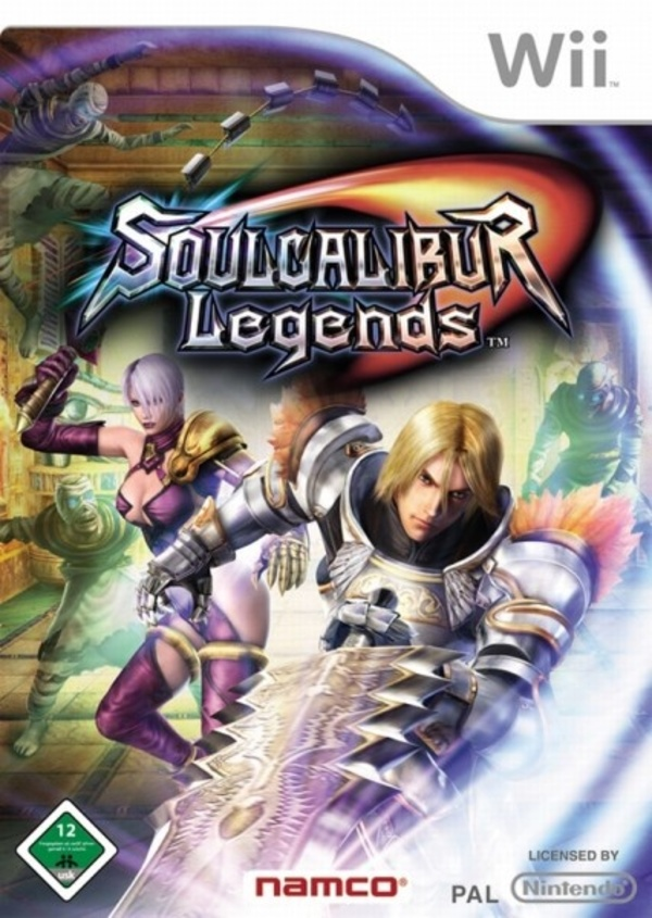 Cover zu SoulCalibur Legends