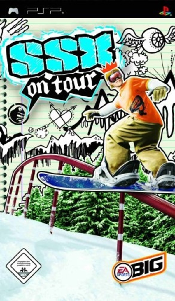 Cover zu SSX on Tour