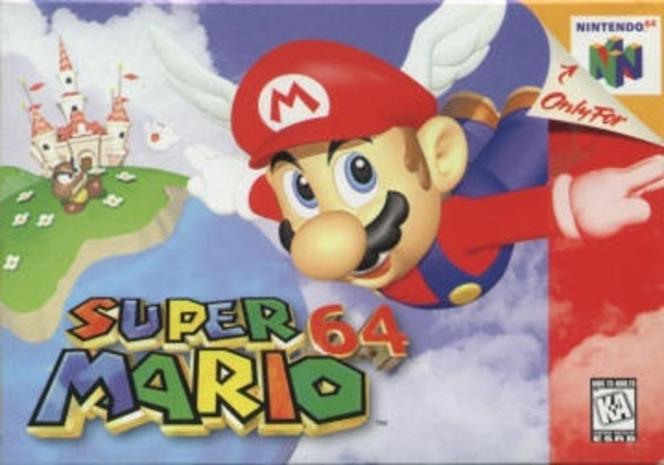 Cover zu Super Mario 64