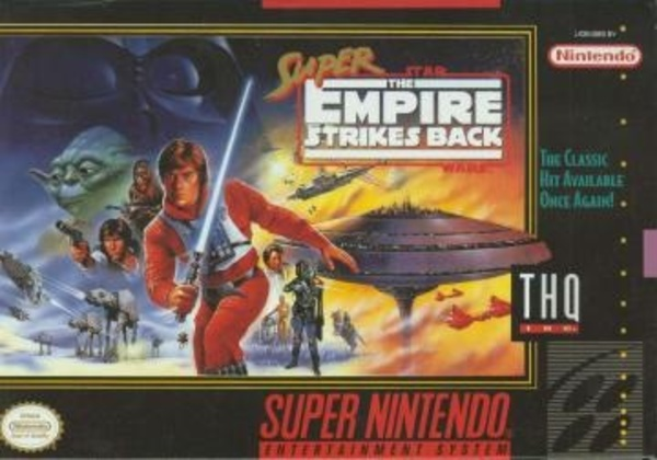 Cover zu Super Star Wars: Empire Strikes Back