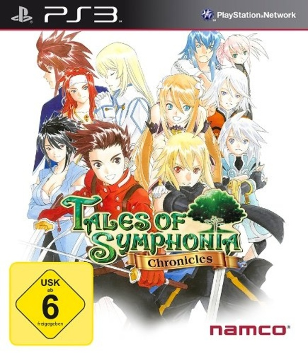 Cover zu Tales of Symphonia Chronicles
