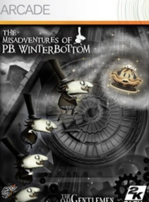 Cover zu The Misadventures of P.B. Winterbottom