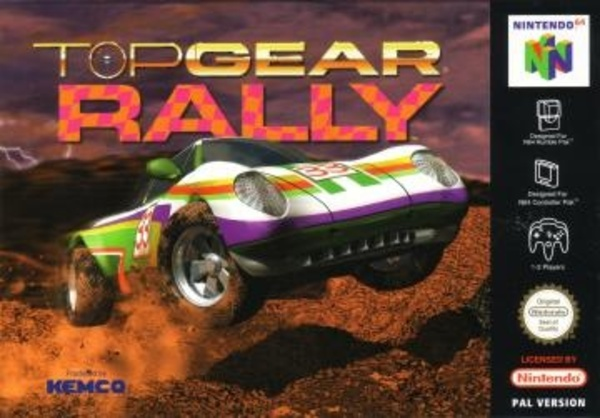 Cover zu Top Gear Rally