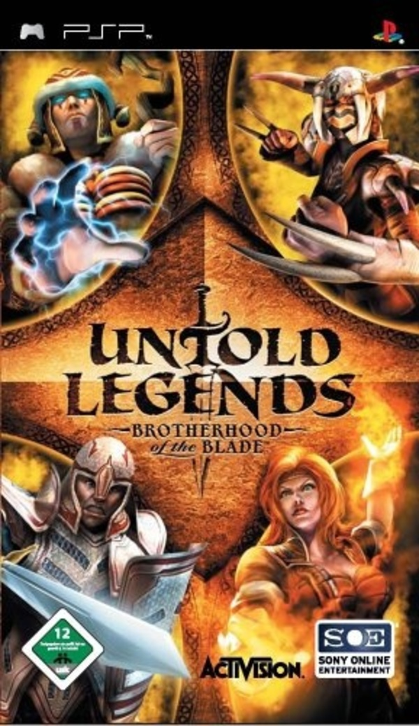 Cover zu Untold Legends: Brotherhood of the Blade