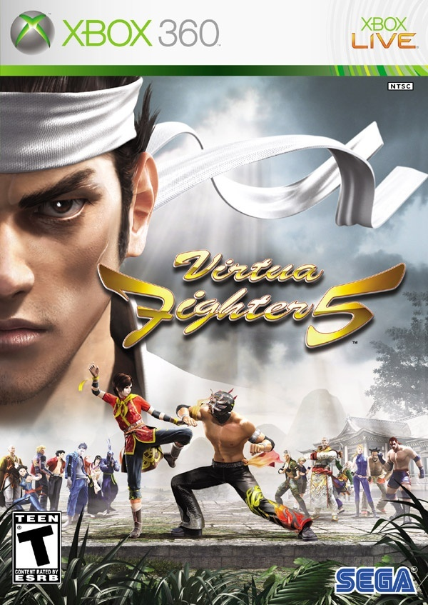 Cover zu Virtua Fighter 5