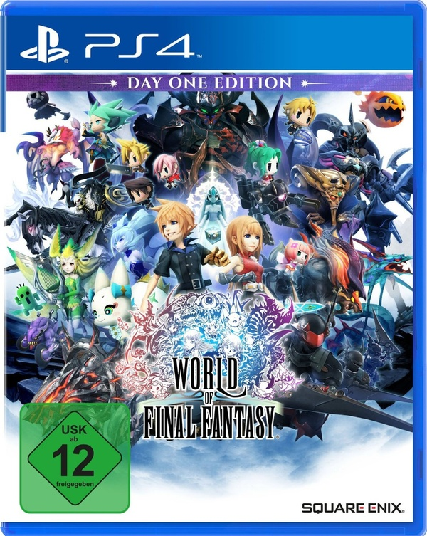 Cover zu World of Final Fantasy