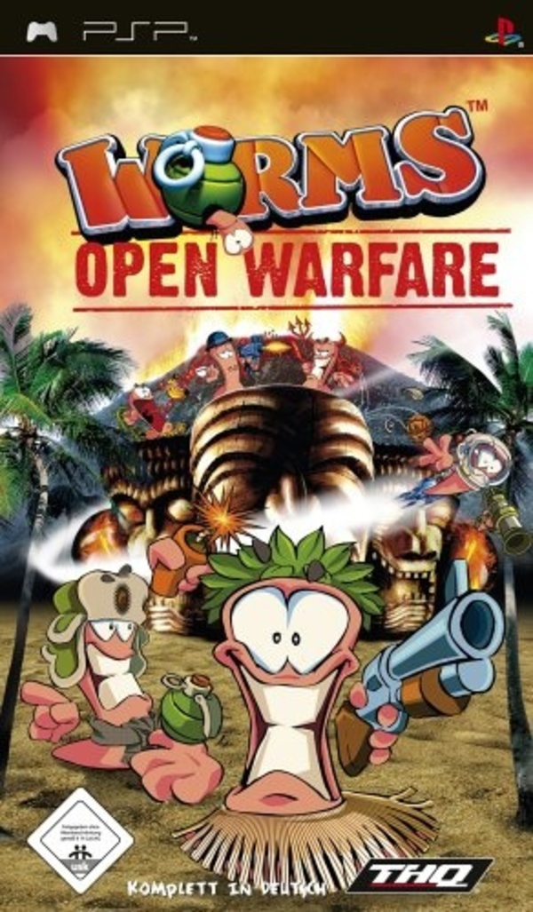Cover zu Worms: Open Warfare