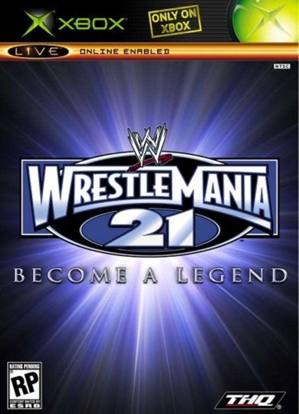 Cover zu WWE Wrestlemania 21