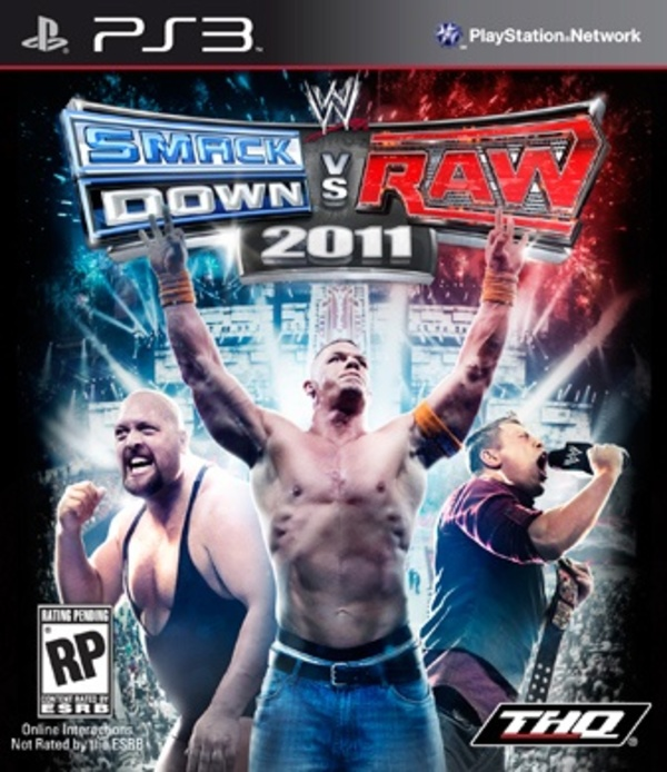 Cover zu WWE SmackDown vs. Raw 2011