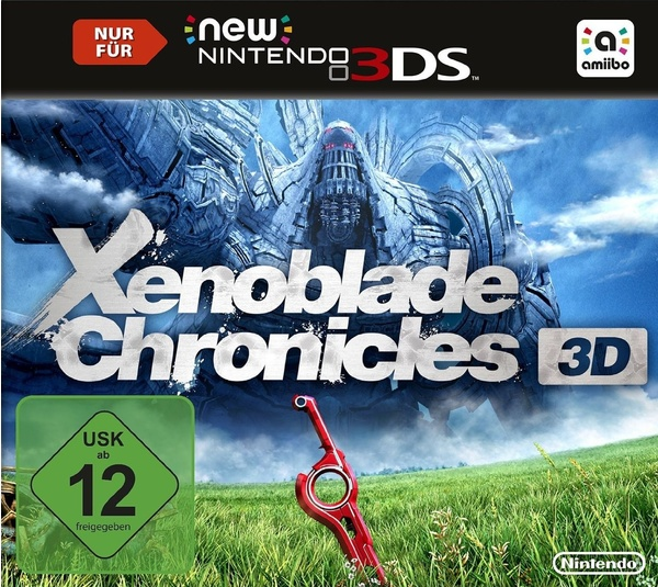 Cover zu Xenoblade Chronicles 3D