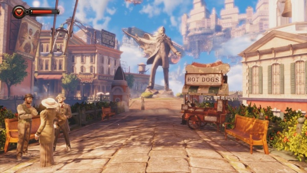 Screenshot zu Bioshock Infinite (PS3) - Screenshots