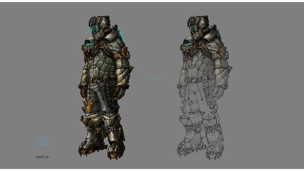 Screenshot zu Dead Space 3 (Xbox 360) - Artworks und Konzeptzeichnungen