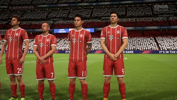 Screenshot zu FIFA 18 (Xbox One) - Screenshots