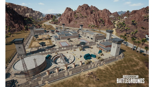 Screenshot zu Playerunknown's Battlegrounds (PS4) - Screenshots der Wüsten-Map