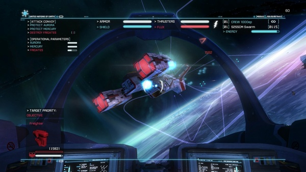 Screenshot zu Strike Suit Zero (PS4) - Screenshots