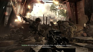 <b>Call of Duty: Modern Warfare 3 - PC-Screenshots (Solo-Kampagne)</b><br>In Paris sollen die Männer von der Delta Force einen wichtigen Informanten dingfest machen.