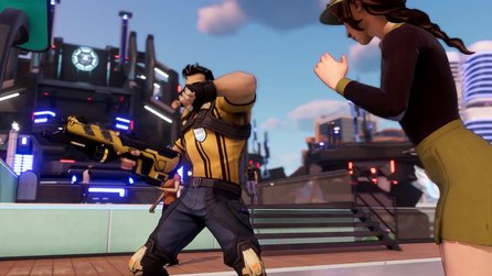Agents of Mayhem - Launch-Trailer des explosiven 3rd-Person-Shooters der Saints-Row-Macher