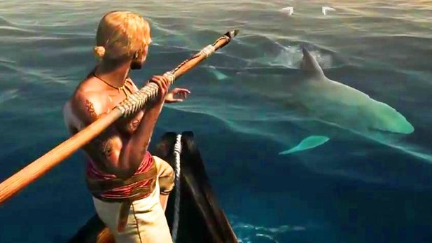 Assassin's Creed 4: Black Flag - 10 Minuten Gameplay mit Hai-Jagd, Seeschlacht & Tauchgang