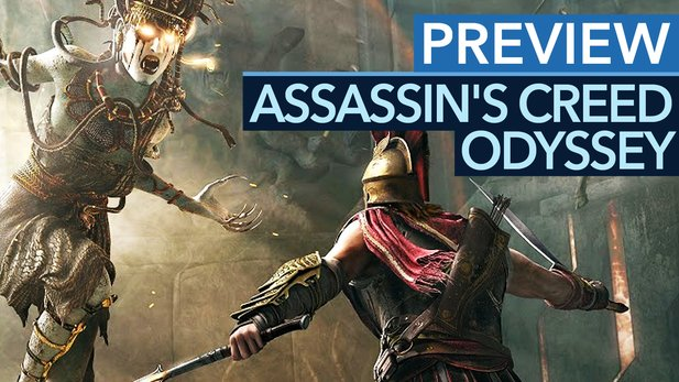 Assassin's Creed: Odyssey - Preview-Video zum Late-Game: tolle Bosse, schwache Seeschlachten