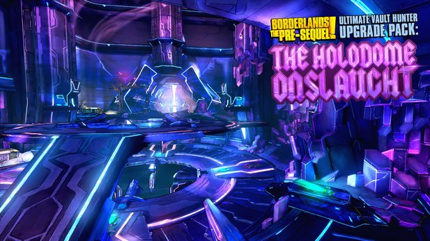 2K Games kündigt den DLC »The Holodome Onslaught« für den Shooter Borderlands: The Pre-Sequel an.