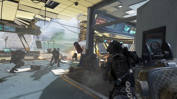 Call of Duty: Ghosts belegt maximal nur zwei Gigabyte RAM.