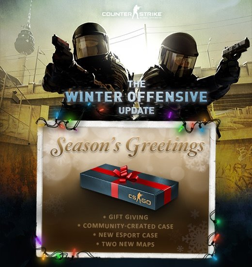 Valve hat das Update »Winter-Offensive« für Counter-Strike: Global Offensive veröffentlicht.