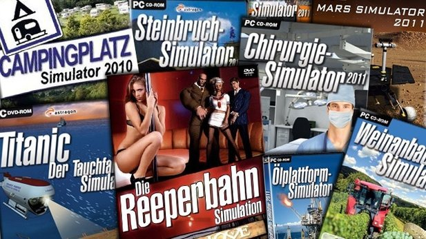 Video: Die kuriosesten Simulatoren