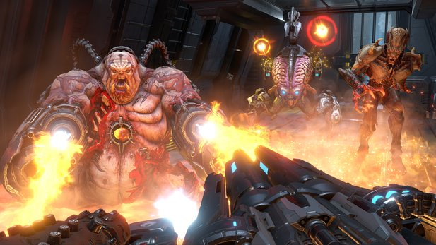 Doom Eternal: Brutale Höllen-Action, verfügbar ab November 2019.