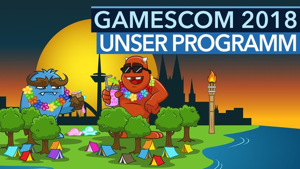 Gamescom 2018 - Video: Unser Live-Programm zur Messe