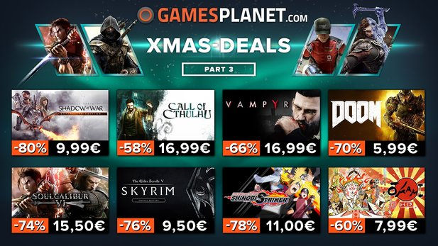 Gamesplanet Xmas-Deals Woche 3