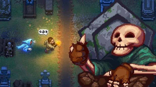 Graveyard Keeper - Reveal-Trailer zum humorigen Friedhof-Manager