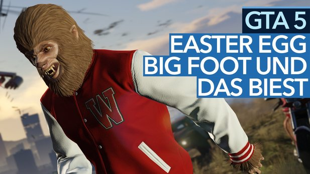 GTA 5 Easter Egg / Guide - Video: So kämpft ihr als Bigfoot gegen das Biest