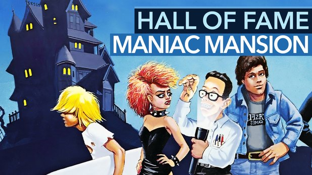 Hall of Fame: Maniac Mansion - Rätselhafter Hausbesuch