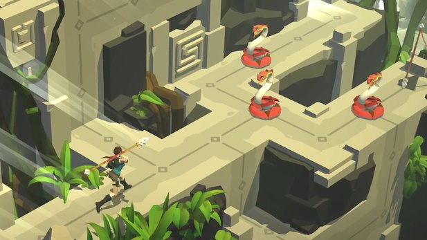 Lara Croft Go - Launch-Trailer zum Mobile-Ableger