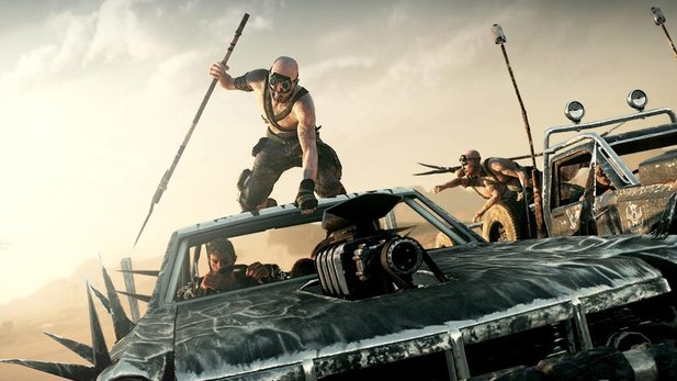 Spektakuläre Action in einer riesigen Open-World: Mad Max.