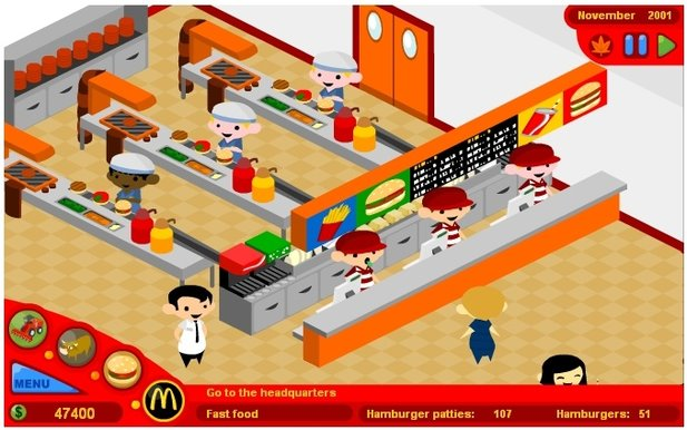 McDonald's Video Game : McDonald's Video Game