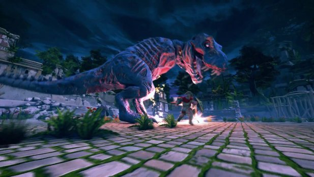 Neverwinter - Launch-Trailer zum Inhaltsupdate »Lost City of Omu« mit untotem T-Rex