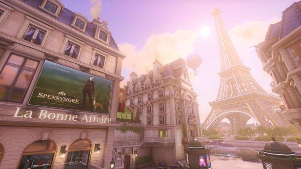 Karte Paris Eiffelturm.Neue Assault Karte Paris Fur Overwatch Schon Auf Dem Ptr
