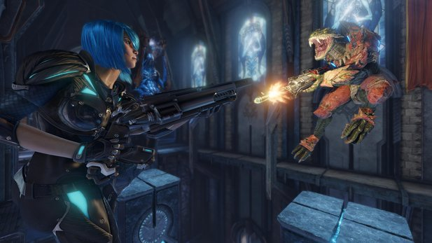 Quake Champions ist Free2Play mit Buy2Play-Option.